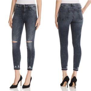 J Brand Alana High Rise Skinny Crop Jeans